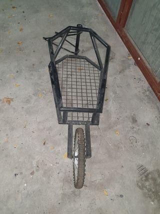 remolque para la bicicleta