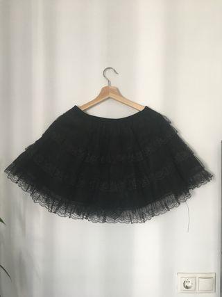 Falda estilo gótico marca Sinister