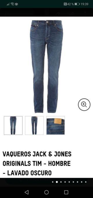 pantalones Jack & Jones t. 30 nuevos