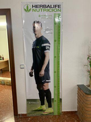 Tallímetro Cristiano Ronaldo