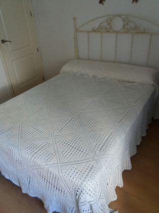cama con arcón