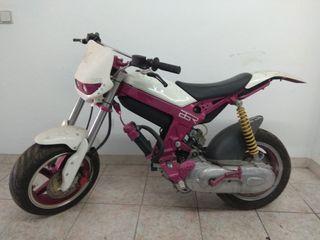 Suzuki Street Magic motor aerox