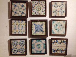 Plafones de azulejos