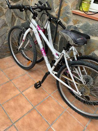 Pack bicicletas una de chica otra de mujer