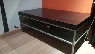 Mesa Centro Abatible (madera + aluminio)