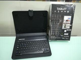 """Tablet Prixton 10"""" con funda teclado. Nueva."""