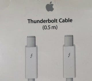 Cable 0,5m Thunderbolt Apple NUEVO