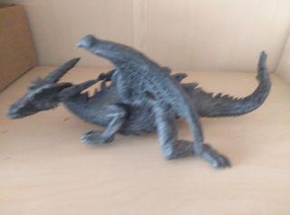 figuras dragones en resina