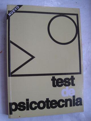 Libro Test de psicotecnia oposiciomes psicotecnico
