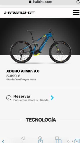 bicicleta eléctrica con pedaleo en asistencia