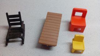 Playmobil mobiliario 2.