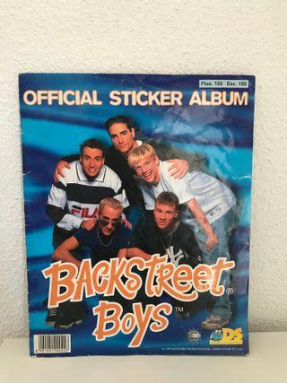 Album Backstreet Boys DS sticker collections 1997