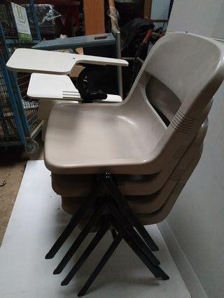sillas plataforma para edtudiar
