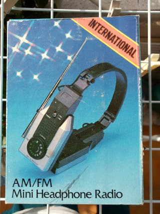Auriculares para radio vintage
