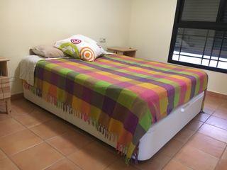 Cama canapé + colchón