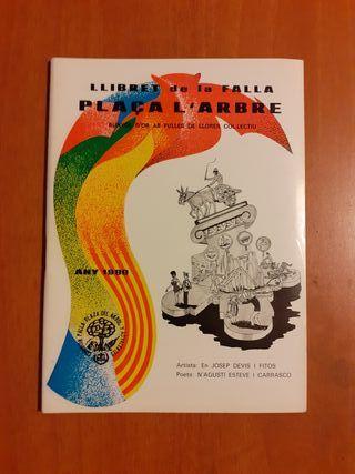 Lote 75 Llibrets Fallas años 80.