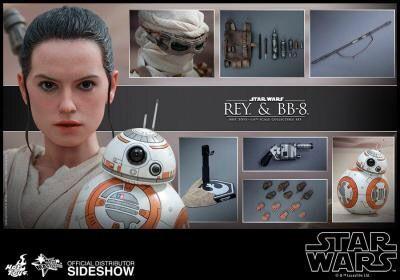 Hot Toys Pack Rey BB-8 Star Wars
