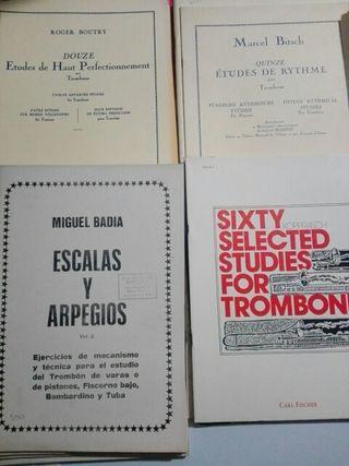 Metodos trombon, boutry,badia, bitsch y kopprasch