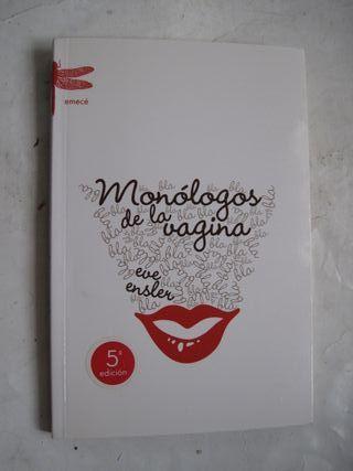 libro Monólogos de la Vagina Eve Ensler