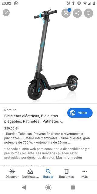 patinete eléctrico 700w