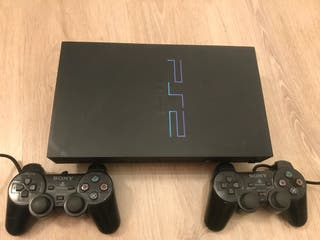 Playstation 2 - PS2 + Memory card 16 MB + mandos