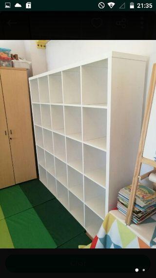 Estanteria cubos Ikea