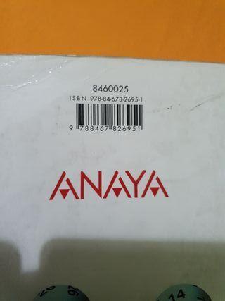 Libro de Texto Matemáticas ACC. Anaya