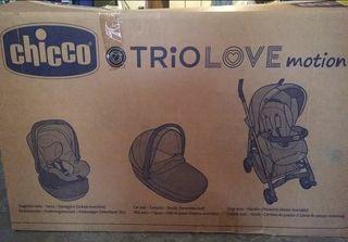Carrito bebe Chicco Trio Love Motion