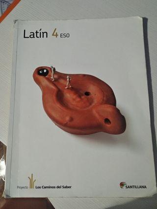 LIBRO LATIN 4 ESO *CUARTO* SANTILLANA