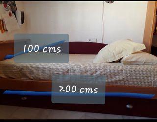 Cama dormitorio habitacion
