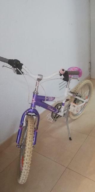bicicleta seminueva niña couler