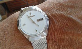 reloj automatico.RELOJ CITIZEN VINTAGE de los 70