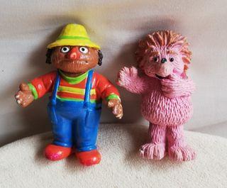 Figuras PVC Espinete y Don Pimpón