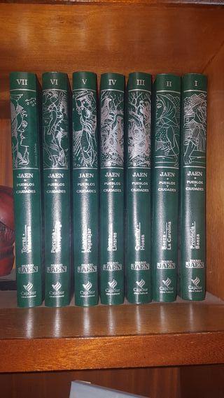 colección libros de Jaén y sus pueblos
