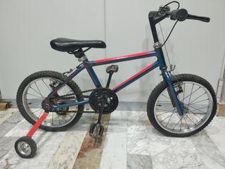 bicicleta de 16 pulgadas patinete y ruedas de 20