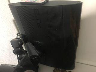 Ps3 play station 3 con mandos y juegos