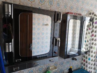 espejo mueble de baño vintage