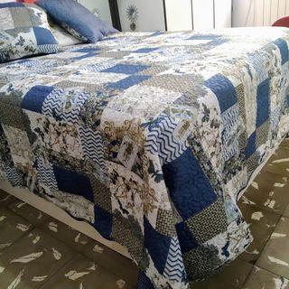 Colcha GRANDE para cama matrimonio (235 x 260 cm)