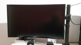monitor samsung curvo de 24 pulgadas + base para m