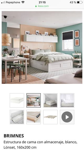 Estructura de cama BRIMNES IKEA