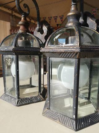 lámparas (faroles) de pared