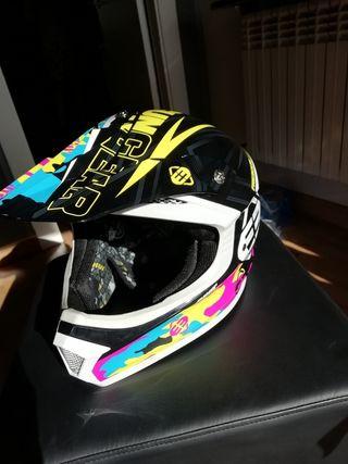 casco shot de motocross