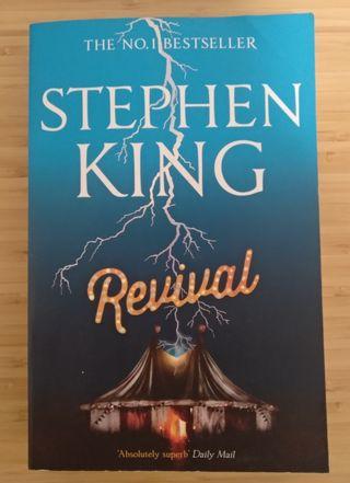 "Libro Stephen King ""Revival"" en INGLÉS"