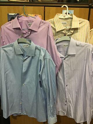 Se venden 4 lotes de camisas.