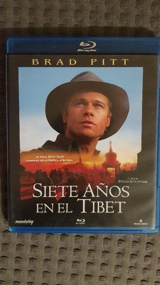 Siete años en el Tíbet. blu ray