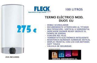 Termo eléctrico Fleck Duo 5 100 litros