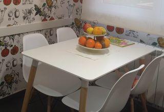 Mesa de cocina rectangular 75x110