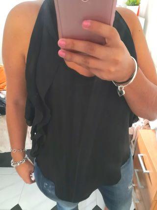 blusa negra L Charlotte rousse
