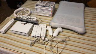 Wii blanca con Balance Fit