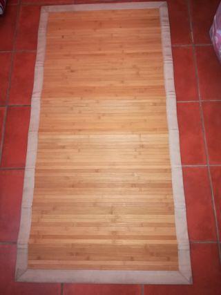 Alfombra de bamboo